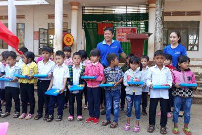 ngày 5/9/2018 trường TH Nơ Trang Lơng đã tổ chức khai giảng năm học 2018-2019